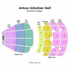 Keller Auditorium Portland Oregon Seating Chart Arlene Schnitzer Concert Hall Concertsforthecoast