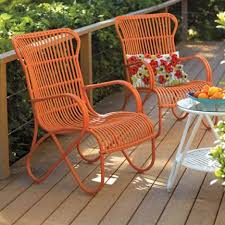 image modern wicker patio furniture. Modern Wicker Outdoor Furniture Patio Dining Set Orange Chair  With Pattered Flower Pi Full Hd Image Modern Wicker Patio Furniture R