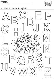 Coloriages Ab C Daire Maternelle Pour Les Petits Coloriage Alphabet Maternelle A Imprimer L