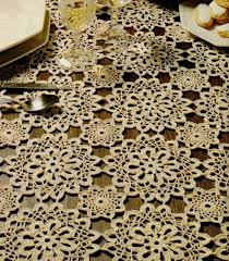 Crochet Tablecloth Pattern Magnificent Httpeasycrochetpatternsblogspot4848crochettablecloth