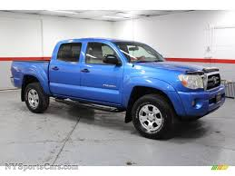 2005 Toyota Tacoma V6 TRD Double Cab 4x4 in Speedway Blue - 110397 ...