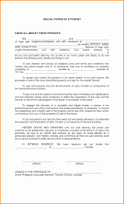 Limited Power Of Attorney Form Ohio Luxury Limited Power Attorney ...