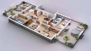 Open Concept 3 Bedroom House Floor Plan Design 3d One Floor House Design Plans 3d See Description Youtube