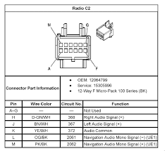 what is the stereo wiring diagram for 2005 chevy equinox chevrolet 2005 Cobalt Stereo Wiring Diagram what is the stereo wiring diagram for 2005 chevy equinox looking and pin outs my audio system 2005 cobalt radio wiring diagram