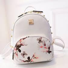 Women Leather School <b>Bag Travel</b> Cute Backpack Satchel <b>Girl</b> ...