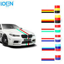 Loen 5m Car Stickers Flag On Cars Auto Walls Window Decals Car Styling Accessories For Bmw Sticker Flag Car Stickerfor Bmw Aliexpress