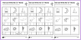 Phonics teaches a student to read by using the sounds of the letters in a word. Find And Write The Ar Words Differentiated Worksheet