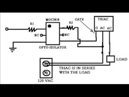 a basic triac 120v circuit youtube 120V to 24V Transformer Wiring a basic triac 120v circuit