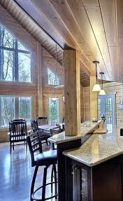 Best  Log Home Interiors Ideas On Pinterest - Log home pictures interior