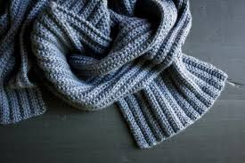 Ribbed Scarf Pattern Simple NoPurl Ribbed Scarf Purl Soho