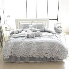 um image for purple grey duvet covers grey pink blue purple cottonlace bedding set full queen