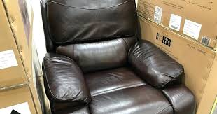 leather glider recliner costco simon li reviews furniture true innovations