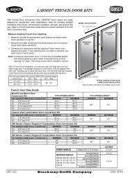 Larson Storm Door Size Chart Larson Storm Windows