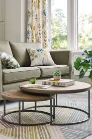 next bronx nest of 2 coffee tables natural