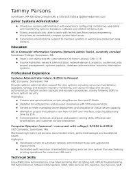 Modern Network Administrator Resume Sample System Administrator Resume Resume Templates System
