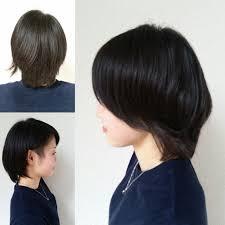 劇的beforeafter黒髪ツーブロック女子が可愛い件黒髪ショートカットが