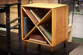 View in gallery DIY wine crate turned nightstand