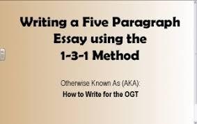 five paragraph essay teachertube