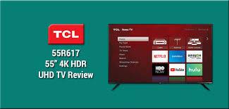 Gaming Review Tcl 6 Series 55r617 4k Hdr Tv Displaylag