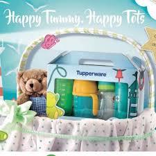 tupperware gift set for baby es kids nursing feeding on carousell