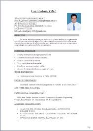 Format Of Resume In Word File Sample Resume Word Document Free