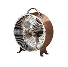 retro desk fan. Fine Retro Table Fan  10 Inch Round Retro Style Desk Copper With