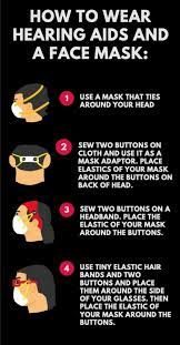 how to navigate wearing a mask with