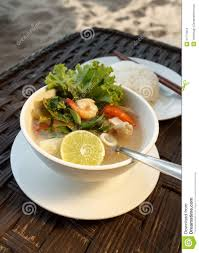 Lemongrass Seafood Soup With Steamed ...