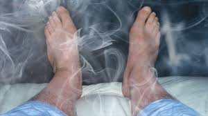feet in smoke a story about electrified near death