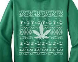 Marijuana sweater | Etsy
