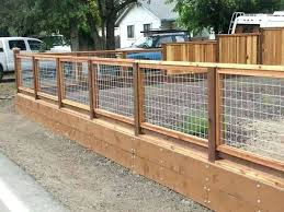 Hog Wire Fence Home Depot Hog Wire Panels Fence Gate For