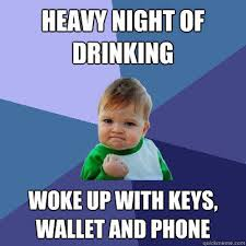drinking meme 016 heavy night of drinking | via Relatably.com