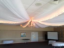 ceiling up lighting. Pipe And Draping, Wedding Wall Cafe Lighting, Twinkle Rope Up-lighting, Fabric Sheer Marry Me Rentals Ceiling Up Lighting