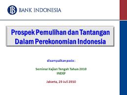 On indonesian economic conditions and policy. Prospek Pemulihan Dan Tantangan Dalam Perekonomian Indonesia Ppt Download