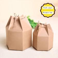 Gift Cardboard Boxes 50pcs Lot 2 Sizes S L Gift Packaging Paper Box Brown Kraft
