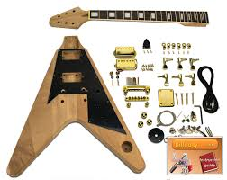 diy guitar gibson flying v mahogany previous next