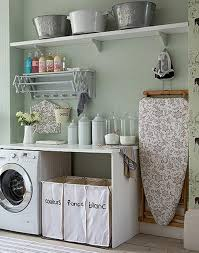 Laundry Room: Small Laundry Room Makeover Ideas - Basement Design