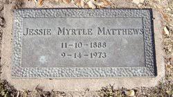 Jessie Myrtle Salisbury Matthews (1888-1973) - Find A Grave Memorial