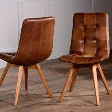 brown dining chairs. Oak And Leather Dining Chairs Brown Chair Attractive Aged Throughout . G