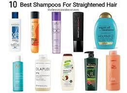 10 best shoo for straightened hair