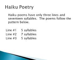 What Is The Pattern Of A Haiku