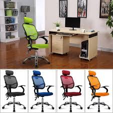 fabric computer chair uk. adjustable chrome executive office chair desk computer mesh seat fabric uk | ebay uk k