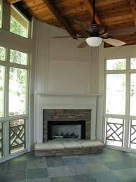 screened porch fireplace pictures outdoor on with custom