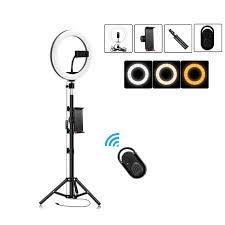 Đèn led tròn có bảng điều khiển dùng selfie / livestream / chụp ảnh studio  (26cm) - Sắp xếp theo liên quan sản phẩm