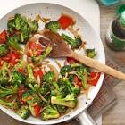 almond chicken vegetable stir fry