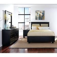 Dimora Queen Upholstered Bed Black Mandarin Frame Tufted Size ...