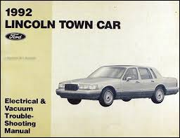92 lincoln town car wiring diagram 92 auto wiring diagram schematic 1992 lincoln town car factory foldout wiring diagram original on 92 lincoln town car wiring diagram