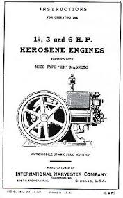 wico ek wire lead towers mag magneto hit miss gas engine • 35 50 international book service manual gas engine m motor wico ek magneto hit miss ih