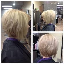 Redken Chromatics Color Inverted Short Haircut