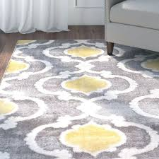 yellow and white area rug wonderful gray cool